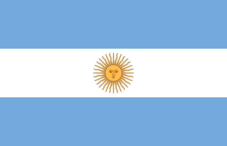 アルゼンチン共和国の国旗